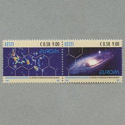 エストニア 2009年ヨーロッパ切手ペア