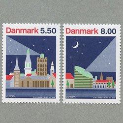 デンマーク 2009年ヨーロッパ切手2種