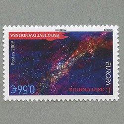アンドラ(仏管轄) 2009年ヨーロッパ切手