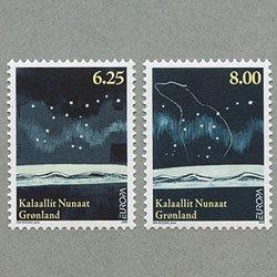 グリーンランド 2009年ヨーロッパ切手