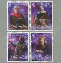 ジブラルタル 2009年ヨーロッパ切手4種