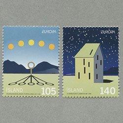 アイスランド 2009年ヨーロッパ切手