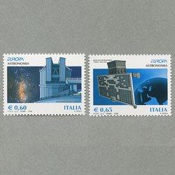 イタリア 2009年ヨーロッパ切手2種
