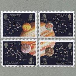 ジャージー 2009年ヨーロッパ切手4種
