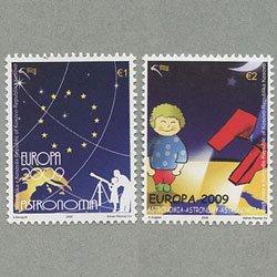 国連コソボ暫定行政機構 2009年ヨーロッパ切手