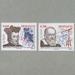 モナコ 2009年ヨーロッパ切手2種