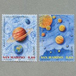 サンマリノ 2009年ヨーロッパ切手2種