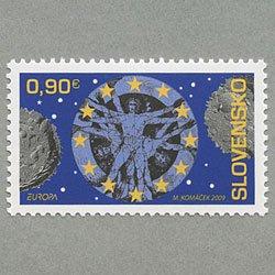 スロバキア 2009年ヨーロッパ切手