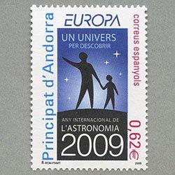 アンドラ(西管轄) 2009年ヨーロッパ切手