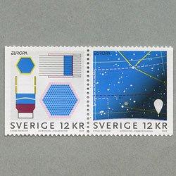 スウェーデン 2009年ヨーロッパ切手ペア