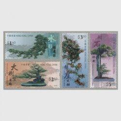 香港 2003年盆栽4種