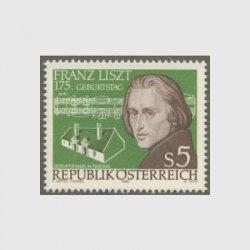 オーストリア 1986年リスト生誕175年