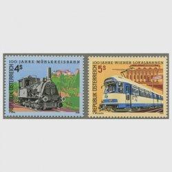 オーストリア 1988年ウィーン鉄道100年2種