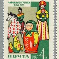 ロシア 1963年工芸品4種