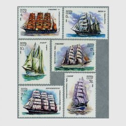 ロシア 1981年帆船6種