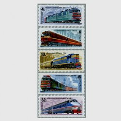 ロシア 1682年鉄道5種
