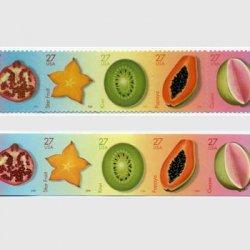 アメリカ 2008年トロピカルフルーツ5種連刷