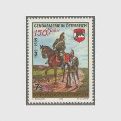 オーストリア 1999年地方自治警察150年