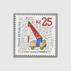 チェコ共和国 2015年ヨーロッパ切手昔のおもちゃ