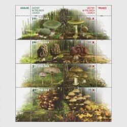 ポーランド 2012年森のキノコ小型シート