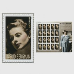 アメリカ 2015年ハリウッドシリーズ「イングリッド・バーグマン」