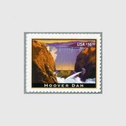 アメリカ 2008年フーバーダム速達切手
