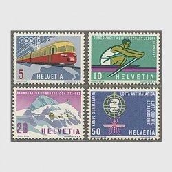 スイス 1962年TEE用ディーゼルカーなど4種