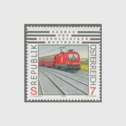 オーストリア 2001年東西幹線の複々線工事完了