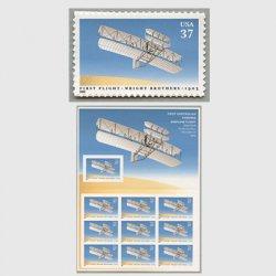 アメリカ 2003年ライト兄弟初飛行100年