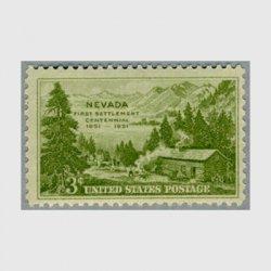 アメリカ 1951年ネバダ入植100年