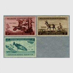 アメリカ 1956年野生動物保護3種