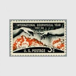 アメリカ 1958年地球観測年