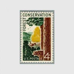 アメリカ 1958年森林保護