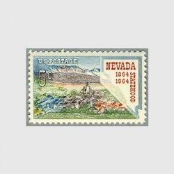 アメリカ 1964年ネバダ州100年