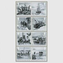 イギリス 2016年シャクルトンの南極探検100年8種