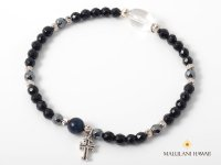 Black Cross Silver