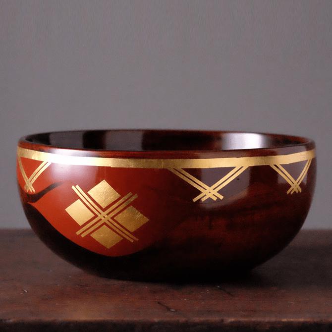 盛鉢(拭き漆)(18cm/21cm/24cm)