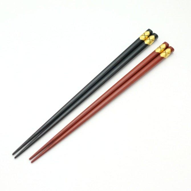 秀衡特上箸(黒/朱/めおと)