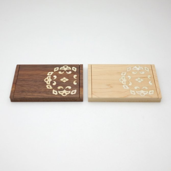 螺鈿唐草名刺ケース(黒板/白板)
