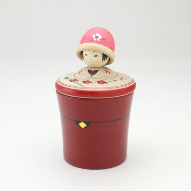 玉小箱 ニット帽(ピンク)