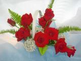 フレッシュアレンジおまかせ薔薇一色・一部地域は送料無料