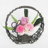 送料無料誕生日、母の日、お正月にもお勧め菊のプリザーブドフラワー和風アレンジ風雅2