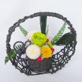 送料無料誕生日、母の日、お正月にもお勧め菊のプリザーブドフラワー和風アレンジ風雅1