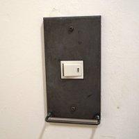 スイッチカバー iron hang bar 1口