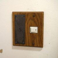 スイッチカバー wood paste magnet 1口