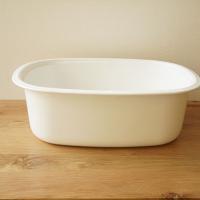 野田琺瑯 楕円型 洗い桶