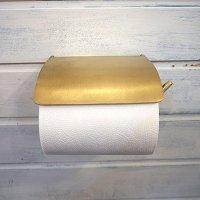 ブラストイレットペーパーホルダー ゴールド