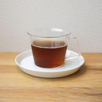 ガラスカップ&ソーサー(磁器)