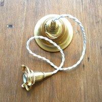 アンティーク風1灯ソケット 60cm カバー付 ホワイト