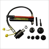油圧パンチャー、角穴パンチ、ダイス
